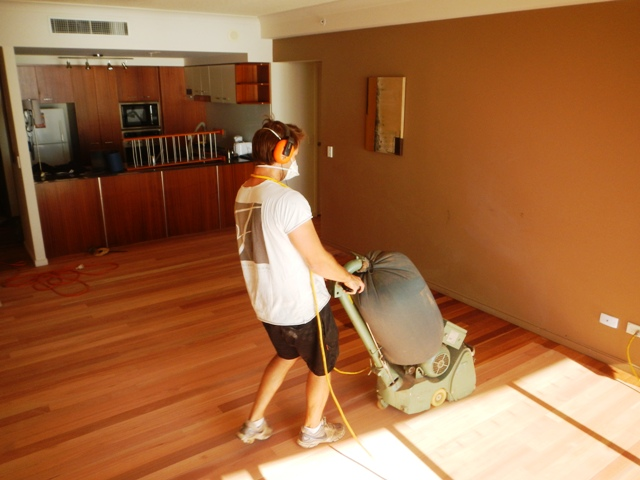 Surfers Paradise Sanding Engineeered Timber Floors